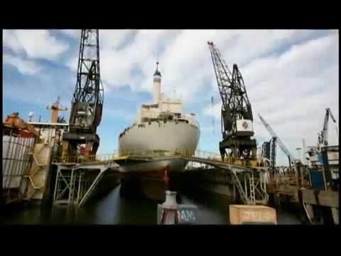 Dry Docking Time Lapse