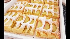 Rhabarberkuchen/Rhubarb Cake/ ENG SUB