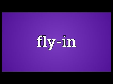 Fly-in Meaning