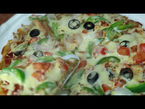 Aloo Pizza Recipe | Easy And Tasty Aloo Pizza Recipe | Pizza Without Yeast & Oven | Lunchbox Recipe