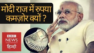 Why Rupee is weaker than Dollar in Narendra Modi Government? (BBC Hindi)