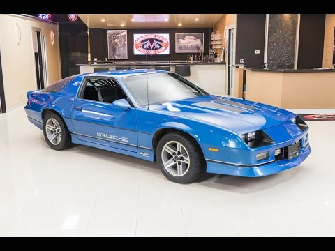 1985 chevrolet camaro iroc z for sale youtube. Black Bedroom Furniture Sets. Home Design Ideas
