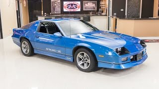 1985 Chevrolet Camaro IROC Z For Sale
