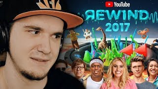 YouTube Rewind The Shape of 2017 (Ютуб Ревайнд) #YouTubeRewind | Реакция