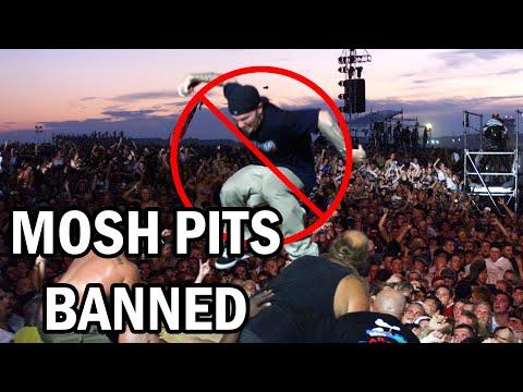 NO MORE MOSH PITS!!!