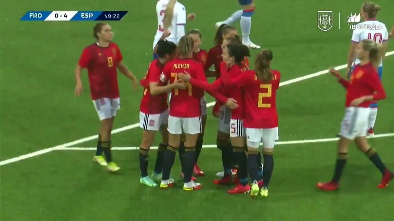 Download Goals galore in Spain vs Faroe Island 2023 World Cup qualifiers   Match Higlights
