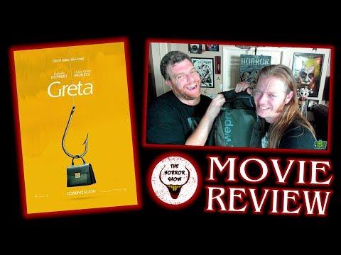 """Greta"" 2019 Non-Spoiler Thriller Movie Review - The Horror Show"