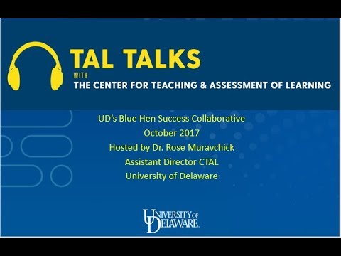 CTAL Podcast #8 - Blue Hen Success Collaborative