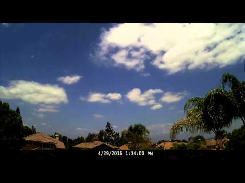 Chino Hills Time-Lapse 4/29/16