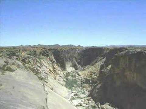 Durch die Wüste _ Die Kalahari zwischen Kimberley, Upington