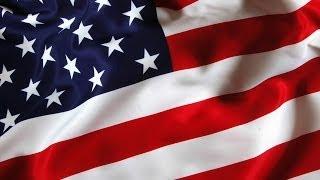 """Серьги """"Американский флаг"""" МК. / Earrings """"American flag"""""""