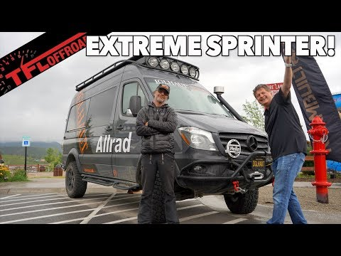 Meet The Mercedes-Benz Sprinter 4x4 That's as Capable as a Wrangler | It Has 3 Locking Diffs!