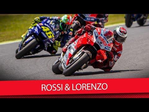 MotoGP 2018: Rossi & Lorenzo begraben Kriegsbeil (VLOG)