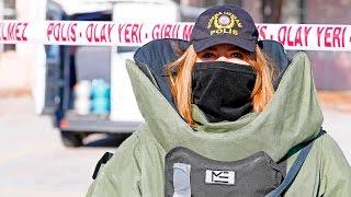 """Kadın bomba imha uzmanının """"ağır yükü"""""""