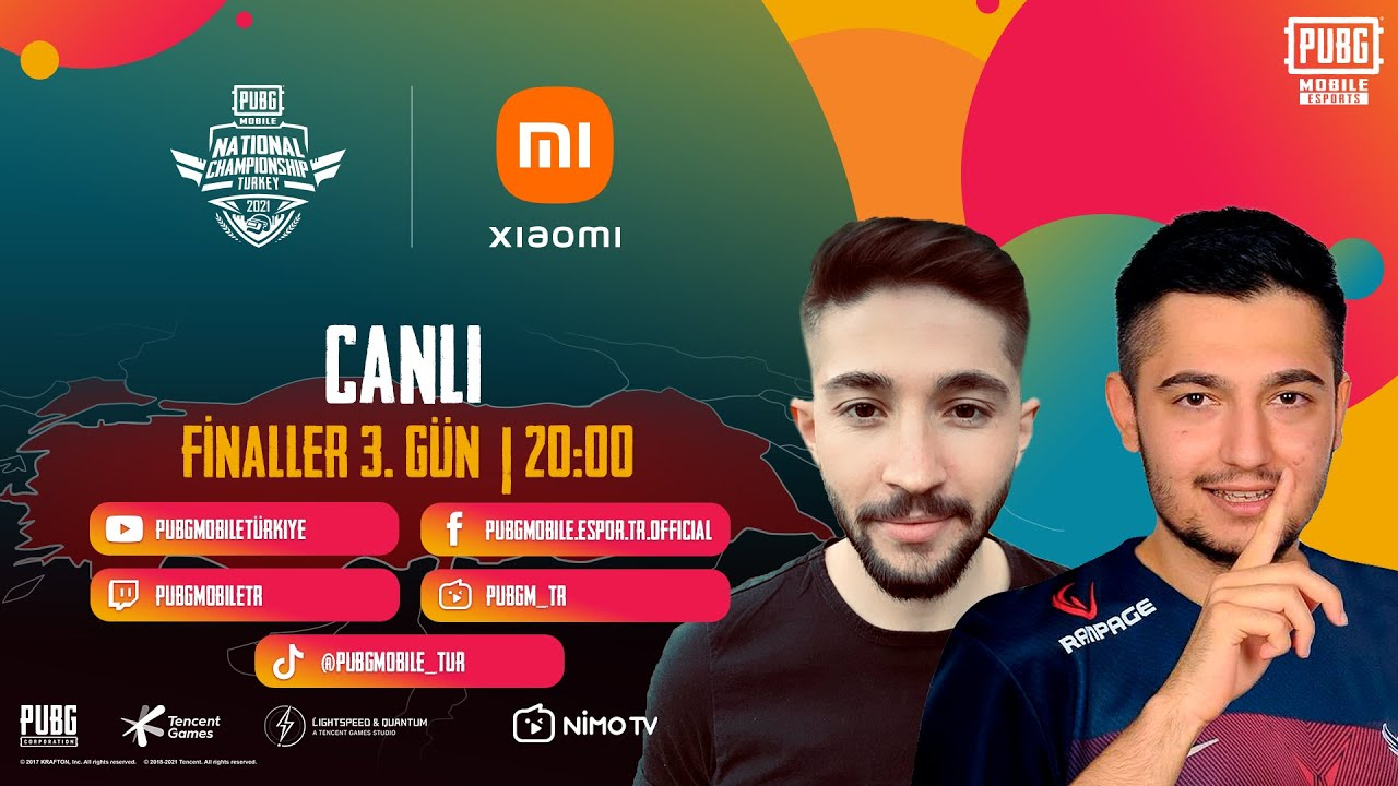 PUBG MOBILE National Championship Türkiye   Finaller   3. GÜN