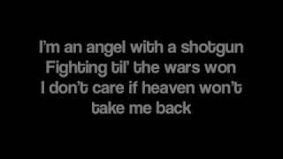 Repeat youtube video Angel With A Shotgun by The Cab [Lyrics]