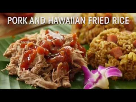 Hawaiian Foods Week Recipe: Pork and Hawaiian Fried Rice - YouTube