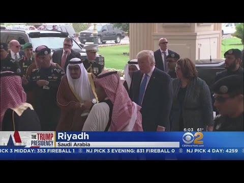 Pres. Trump Arrives In Saudi Arabia