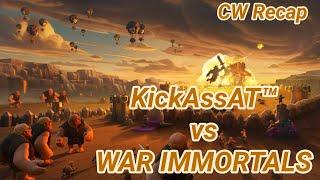 KickAssAT™ vs WAR IMMORTALS | war recap | best of | TH 12 | COC clash of clans 03/19