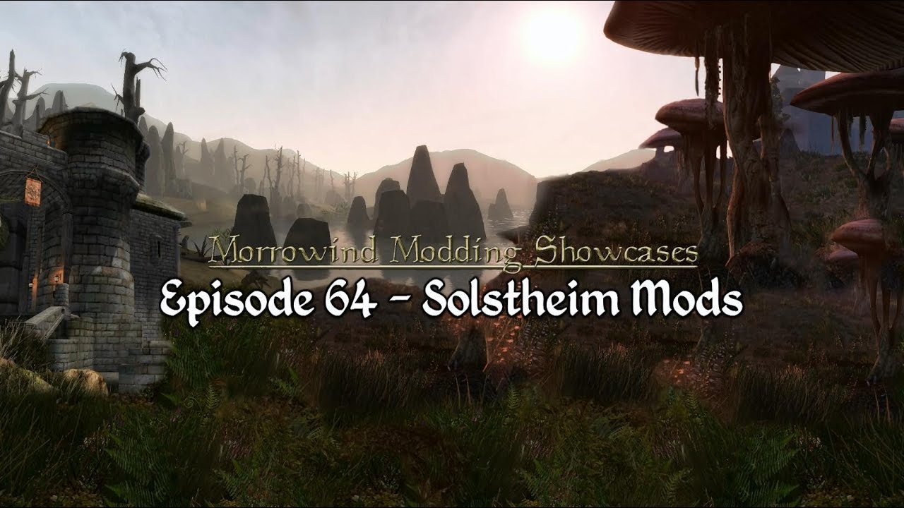Morrowind Modding Showcases - Episode 64 Solstheim Mods