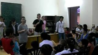 Project Healthy Kids - Proper Teeth Brushing at Hoa Phuong Orphanage in Hai Phong Vietnam