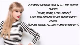 Zayn  feat  Taylor Swift  -  I Don't Wanna Live Forever   Lyrics