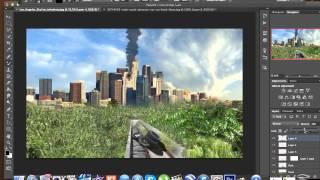 Speed art Photoshop - Los angeles apocalyspe