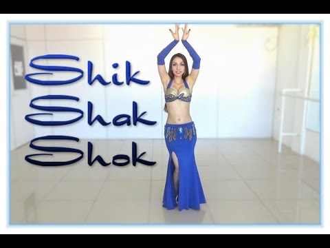 Nancy Ajram - Shik Shak Shok Dance by Black Shine - Choreo by Monica (Belly Dance)