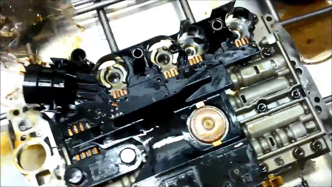Mercedes 722 6 Automatic Transmission Conductor Plate Diagnose