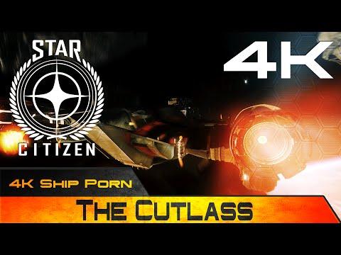 Star Citizen - 4K Ship Porn - Drake Interplanetary Cutlass | OST SAWYER