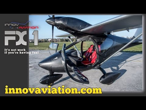 FX 1, Innovaviation FX1 LIght Sport Aircraft, Aero Expo Friedrichshafen Germany