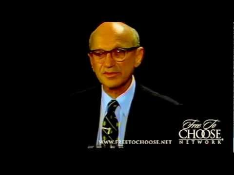Milton Friedman Crushes Man's 3 Questions like Dixie Cups