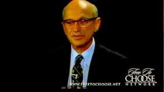 Milton Friedman Crushes Man
