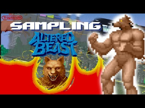Making A Dark Trap Beat With Altered Beast Sampling The Sega