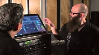 Filter DCAs in the RM-series mixers from PreSonus