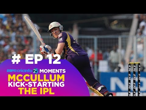 How Brendon McCullum's IPL knock changed cricket (12/25)