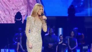 Celine Dion - First Speech after Surgery - May 22nd, 2018