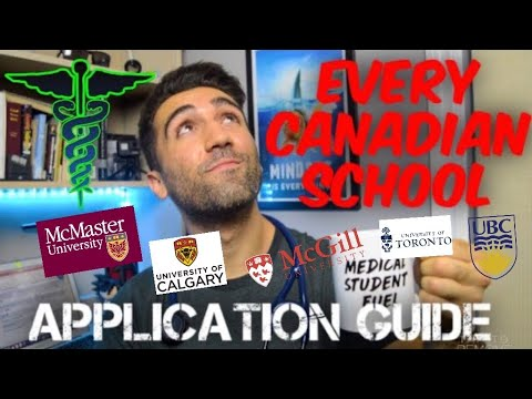 How To Get ACCEPTED Into EVERY Canadian Medical School - Complete Application Guide
