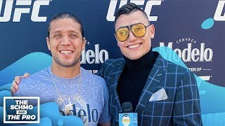 Halle Barry Direct Messaged Brian Ortega To Train her in MMA