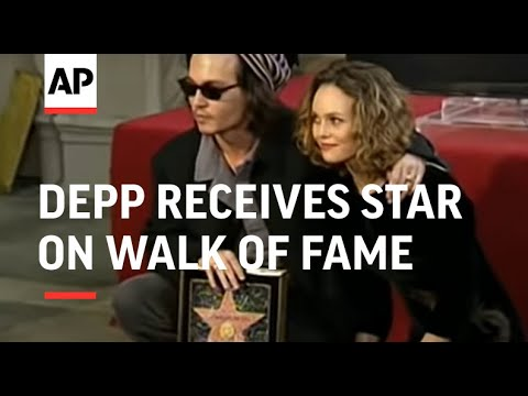 Johnny Depp receives star on walk of fame