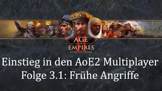 Einstieg in den Aoe2 Multiplayer | Folge 3.1: Frühe Angriffe (Bogenschützen)