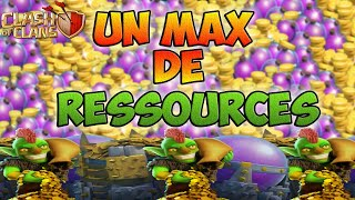 LE RESULTAT D'UN FARM RAPIDE CLASH OF CLANS