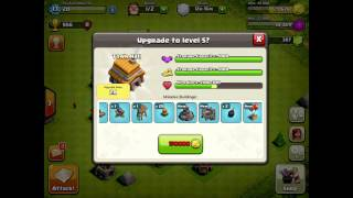 Clash of Clans - PS ep3 - Town Hall 4 Begins