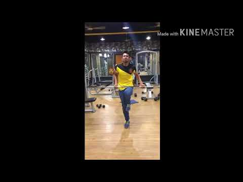 Guru mann bicep curl challenge (370) reps with Olympic rod from hyderabad