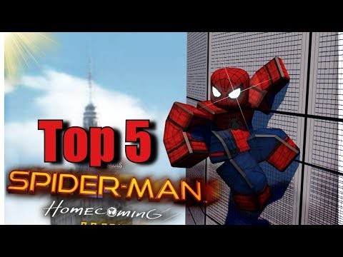 Top 5 spiderman games in roblox