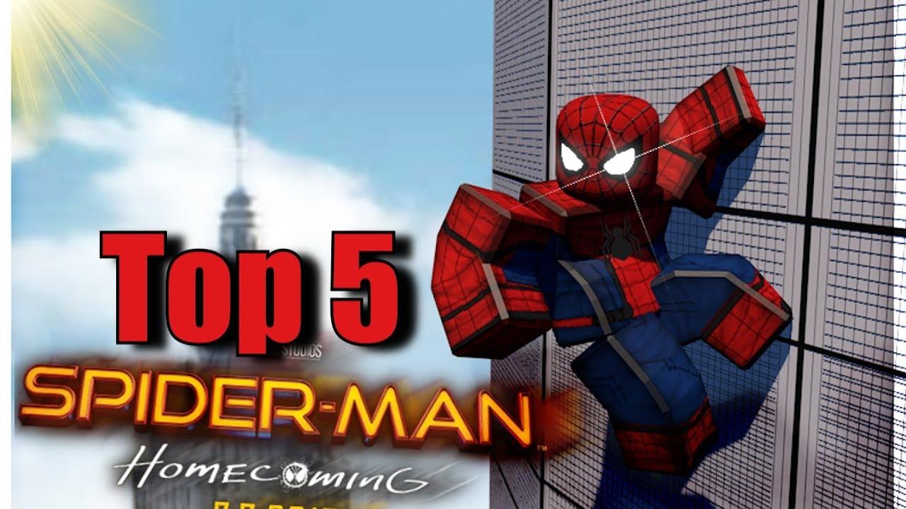best spiderman games on roblox