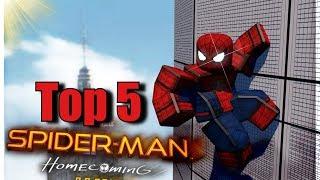 Top 5 spiderman spiele in roblox