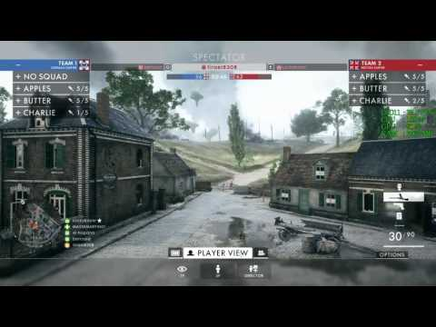 GeForce GTX 1060 -- Intel Core i3-7100 -- Battlefield 1 FPS Test -- St Quentin Scar Online