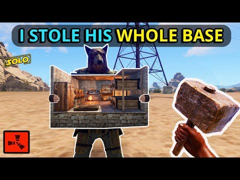 He Was Carrying A WHOLE BASE, And I TOOK IT ALL FROM HIM On WIPEDAY! (Rust Solo EP1) thumbnail