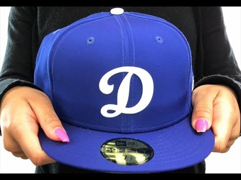 1c821ec05a6 Dodgers  2018 PROLIGHT-BP  Royal Fitted Hat by New Era - YouTube